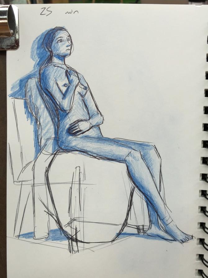 Figure Drawings 9/11/16