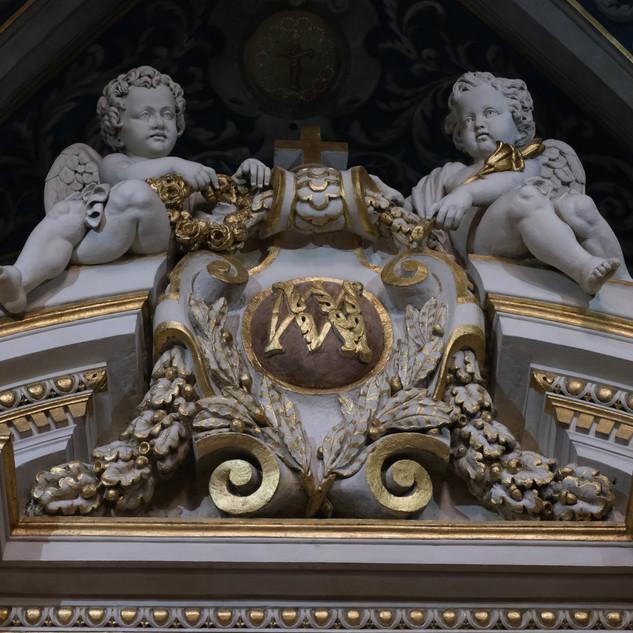 Détail Chapelle de la Vierge