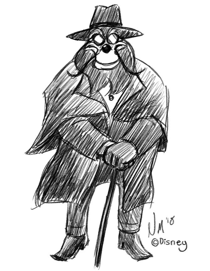 Merlock as Judge Doom