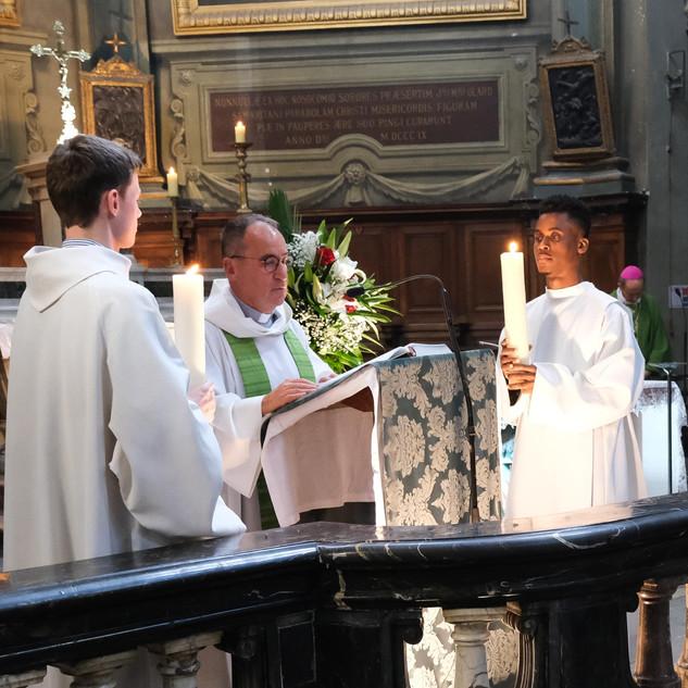 13 octobre - Messe aux intentions des personnes baptisées à la chapelle - P Patrick Rollin