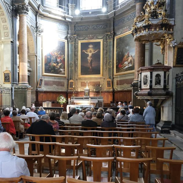 13 octobre - Messe aux intentions des personnes baptisées à la chapelle