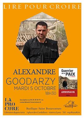 Affiche St Bonaventure Alexandre Goodarzy 5 octobre.jpg