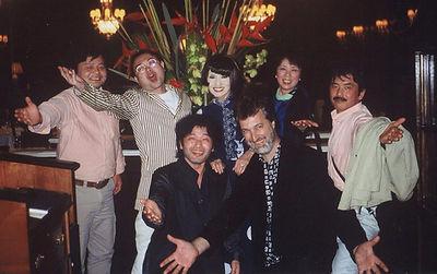 Simon Prentis with Tetsuko Kuroyanagi