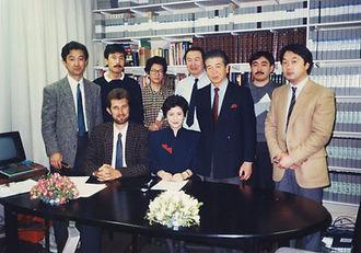 Simon Prentis with NHK World News