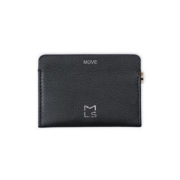 Card Pocket - Black Leather