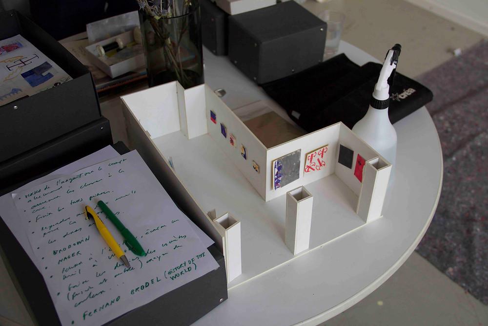 Jon Merz - Model of upcoming exhibition