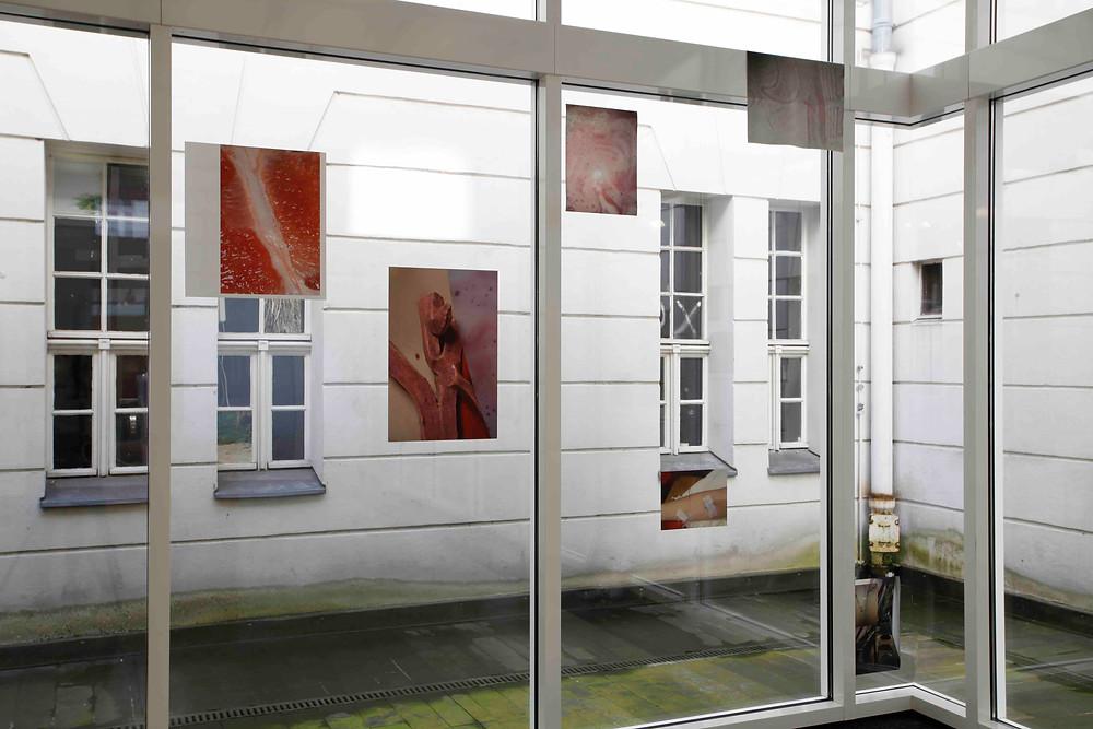 Judith Dorothea Gerke, installation view (detail) of In deinen Augen, in deinen Armen