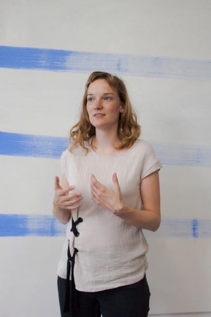 Franziska Beilfuß in her Studio at UdK Berlin