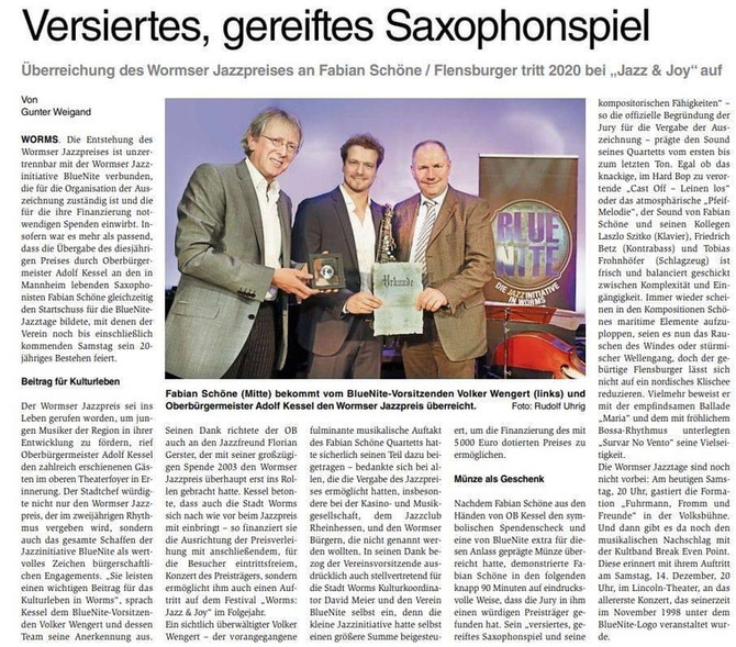 Wormser Wochenblatt 18.11.19