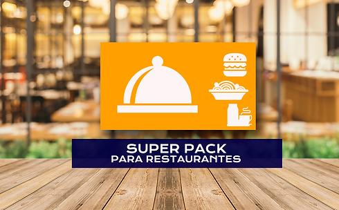 Super Pack para restaurante