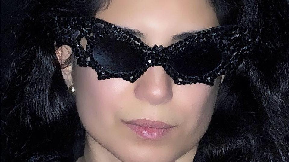 Black Bat Glasses