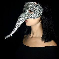 Silver Dominion Mask. Eternity Collection, 2020.