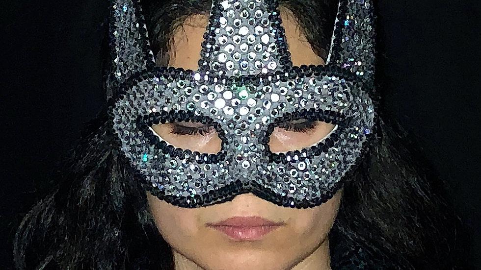 Silver Jester Mask