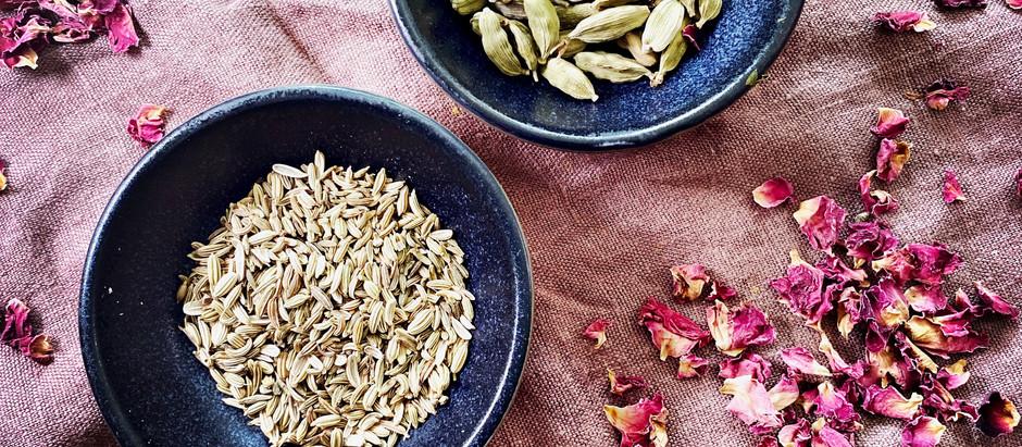 Kräuter und Gewürze - die Essenz der ayurvedischen Küche