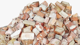Red Brick Pile Medium