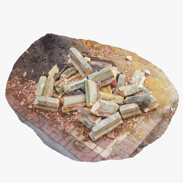 Limestone Rubble