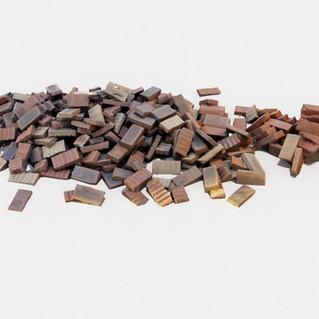 Neat Brick Pile