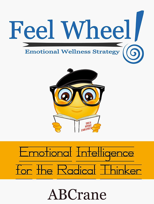 Feel Wheel Emotional Wellness Strategy with journaling worksheets (paperback)
