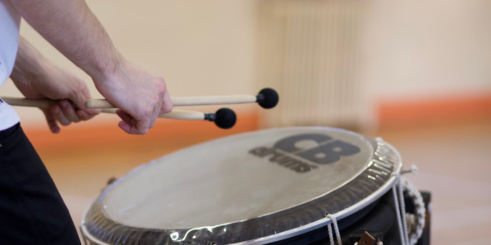 O7 Free drums training session