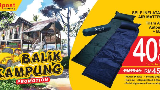 Jom Balik Kampung Promotion!