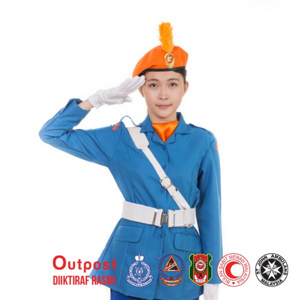 Uniform Kadet Jabatan Pertahanan Awam Malaysia JPAM