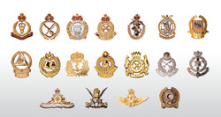Metal Cap Badges