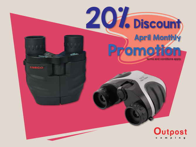 April Promotion on Binoculars ;)