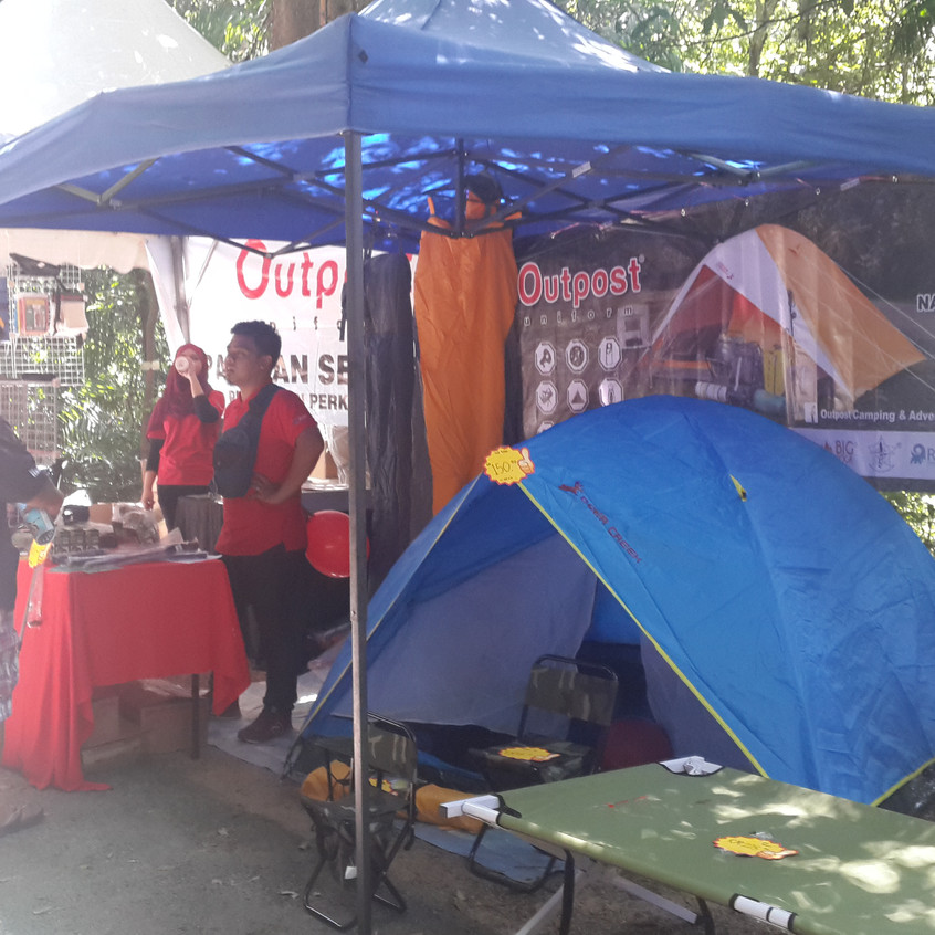 Outpost Camping Booth