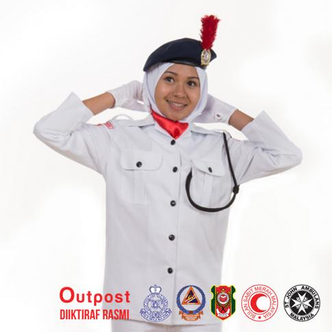 Uniform Bulan Sabit Merah BSMM