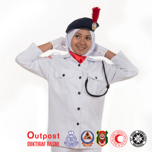 Uniform Bulan Sabit Merah BSMM