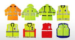Raincovers, Jackets & Garments
