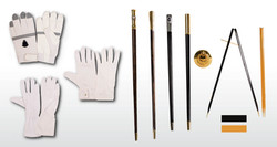 Gloves, Baton & Pacing Sticks