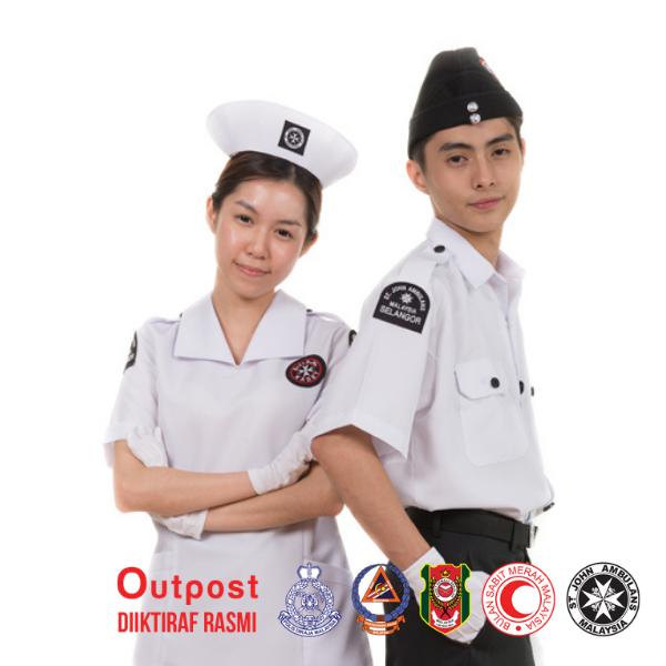 Uniform St John Ambulance Malaysia