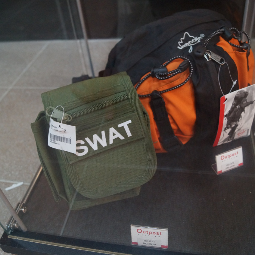 Outpost's Pouch and Bags