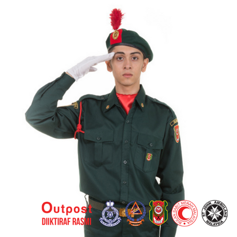 Uniform Kadet Remaja Sekolah KRS