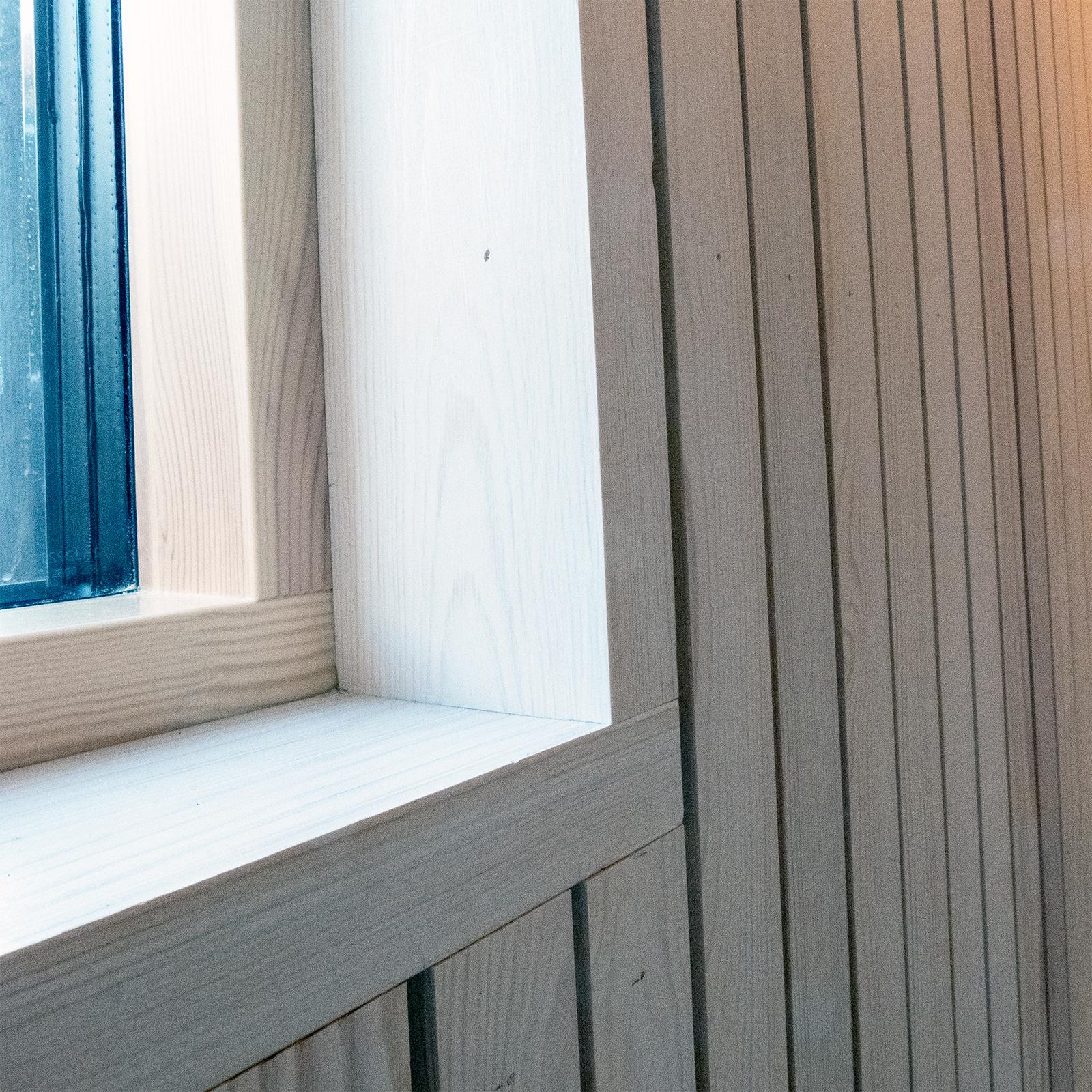 Detalj vinduskarm
