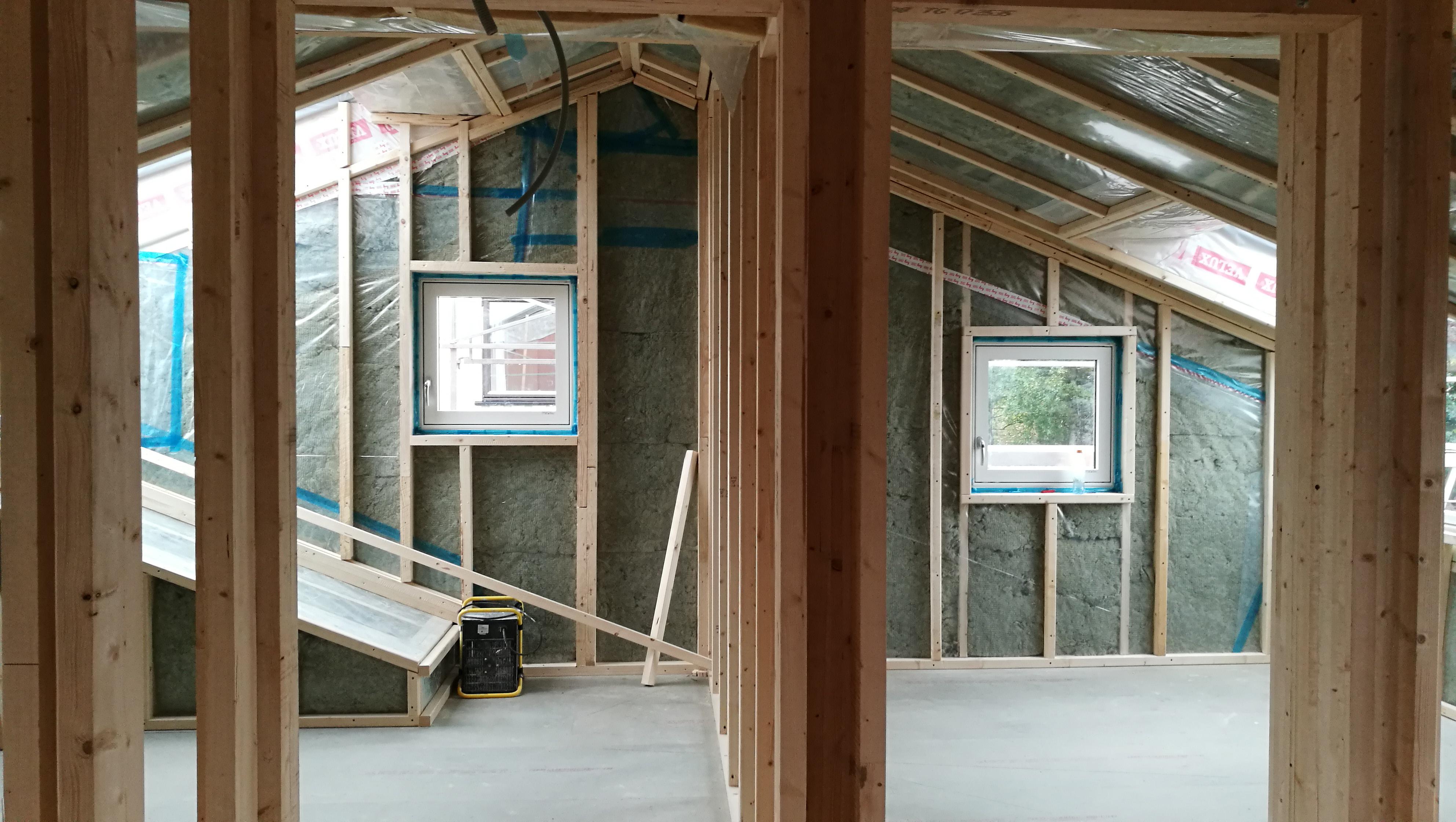 Fra byggeplass: soverommene