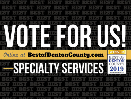 Best Of Denton County 2019: Please Vote For Us