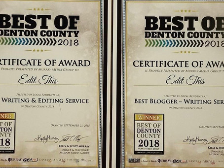 Thank You For Voting Us Best Of Denton County