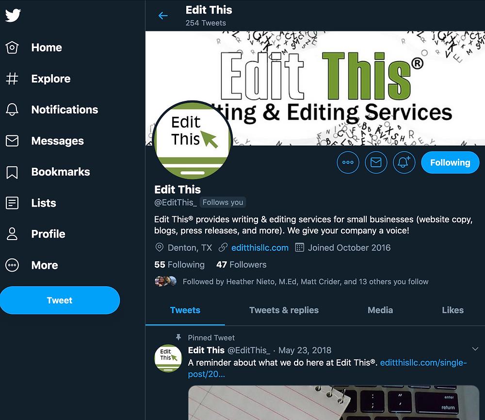 Edit This Twitter