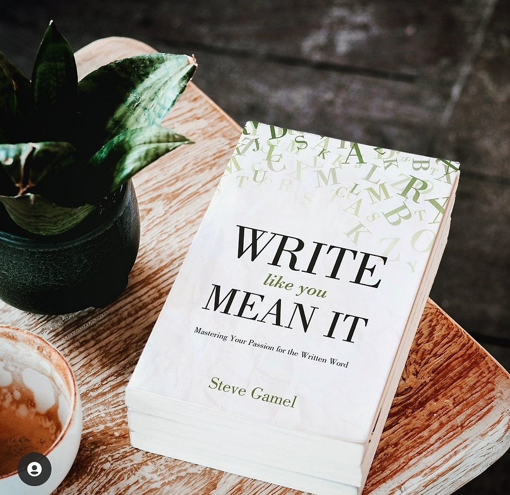 New Book for writers ... Write Like You Mean It: Mastering Your Passion for the Written Word