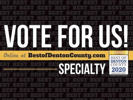 Best Of Denton County 2020: Please Vote For Edit This
