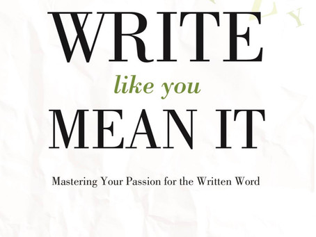 Coming Soon: Steve Gamel Inspires Readers With New Book, Write Like You Mean It!