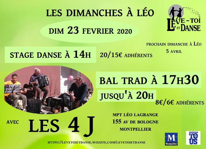 Dimanche à Léo du 23 février 2020