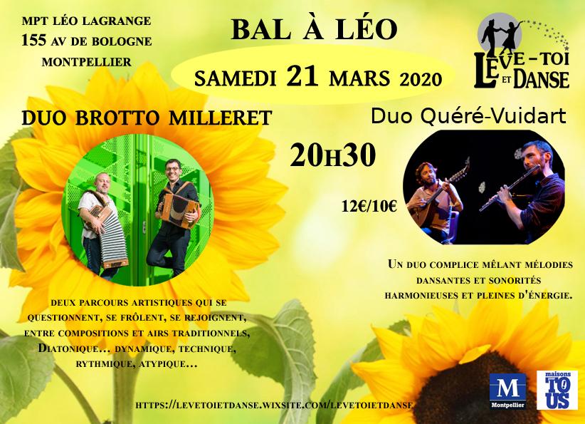 Bal à Léo 21 mars 2020