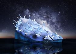 Iceberg-AMSTERDAM LIGHT FESTIVAL
