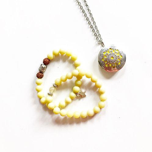 Kit bracelets et collier aromathérapie