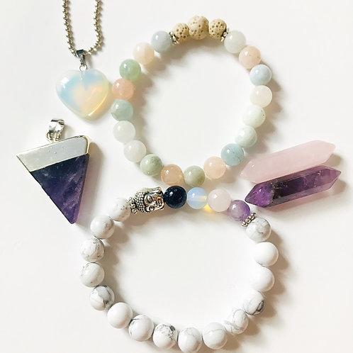 Kit bijoux douceur, féminité, harmonie