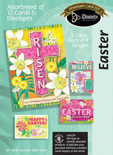 Boxed Christian Greeting Cards - Easter
