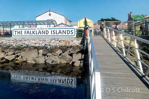 Port Stanley pontoon